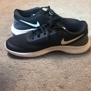 Black with White Accent Nike Sneakers